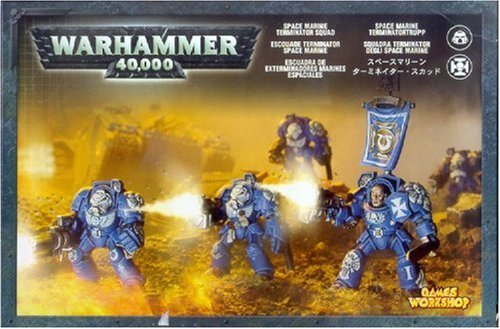 Games Workshop Warhammer 40k Space Marine Terminator - Warhammer Space 40k Marine