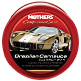 Mothers 35500 California Gold Brazilian Carnauba Cleaner Wax Paste, 12-Ounce