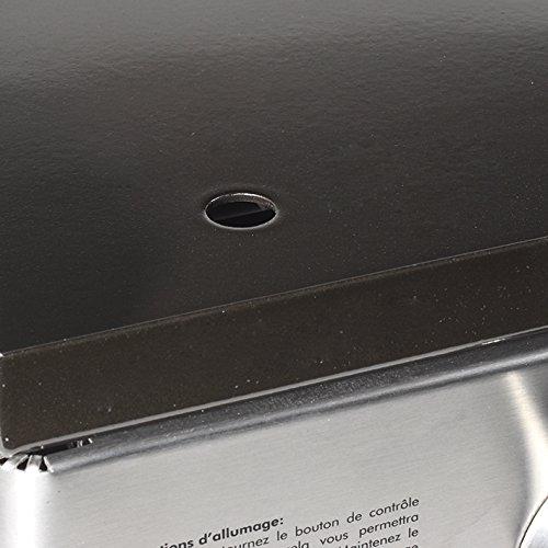BQ-6395DU FireFriend luxuri/öser Gasgrill mit 3 Brenner gro/ße Bratfl/äche aus emailliertem Gusseisen// mit praktischem Abfluss f/ür /übersch/üssiges Fett