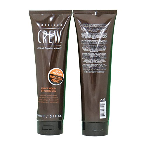 (American Crew Light Hold Gel, 13.1 Ounce)