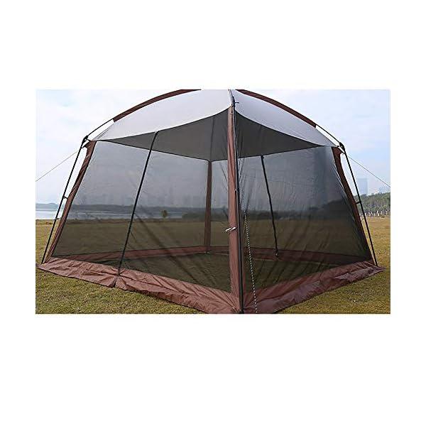 LOY 5-8 Tenda per i Popoli della Famiglia con Migliore Ventilazione e Anti-zanzara, Impermeabile e UPF 50+ di Gazebo da… 4 spesavip