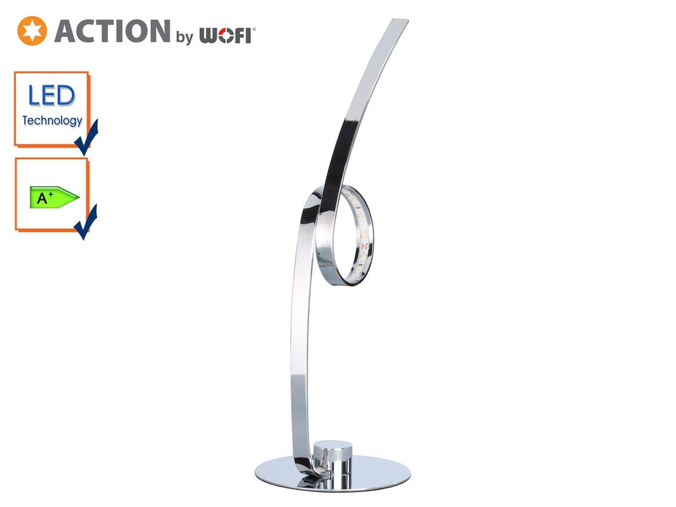 Makion Nouvelle Led Spirale Lampe De Table Blanc Chaud 15w