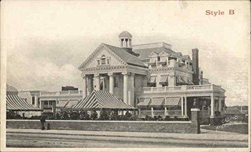 Oxford Manor, Casino Style B Averne, New York Original Vintage Postcard from CardCow Vintage Postcards