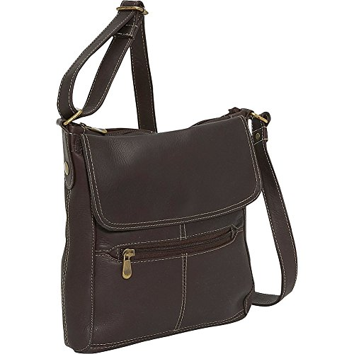 le-donne-leather-front-flap-crossbody-cafe