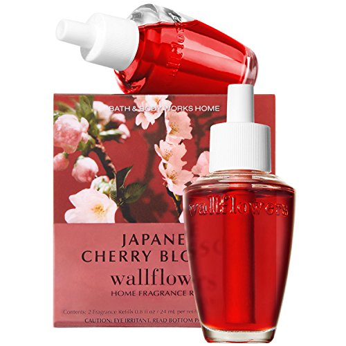 Bath and Body Works New Look! Japanese Cherry Blossom Wallflowers 2-Pack Refills