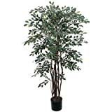 Exclusive By Nearly Natural 4 Ft Ruscus Silk Tree