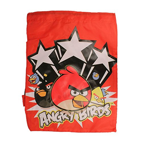 Angry Birds Kordelzug Trainer Tasche, Rot