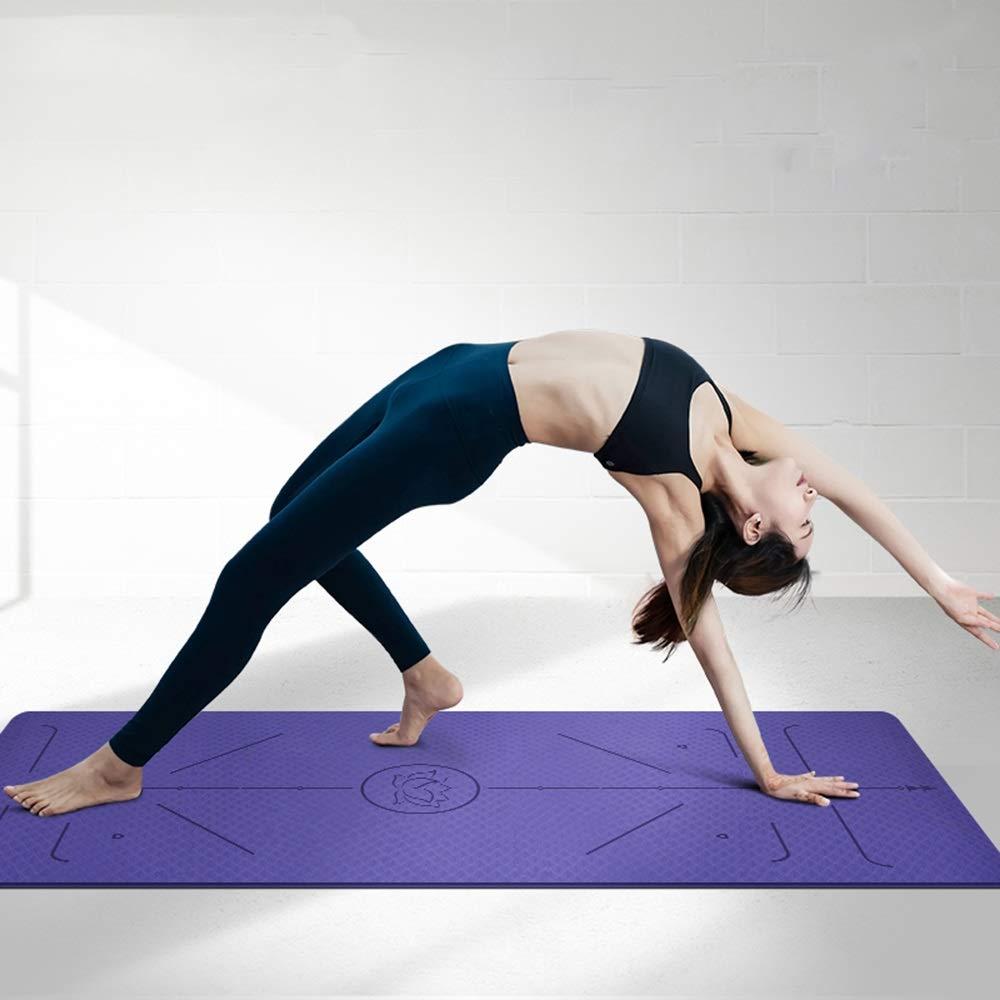 MXK Estera De Yoga TPE - con Bolsa para Transportar Cuerdas ...