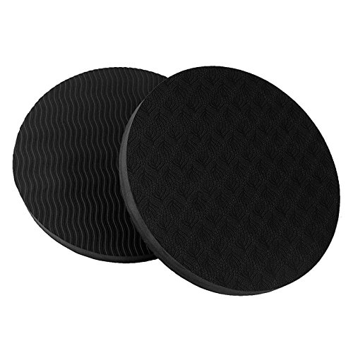 Amazon.com : 2PCS/Set Portable Small Round Knee Pad Yoga ...