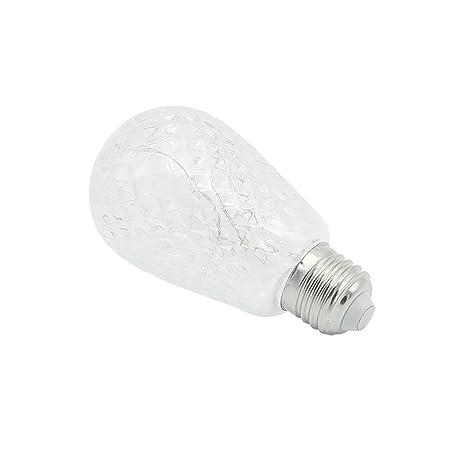 ZZM E27 - Bombilla LED de filamento en espiral para decoración de interiores, casa,
