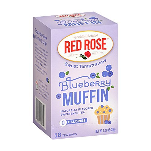 Rose Muffin (Red Rose Sweet Temptations Blueberry Muffin - 18 Count (6-Pack))