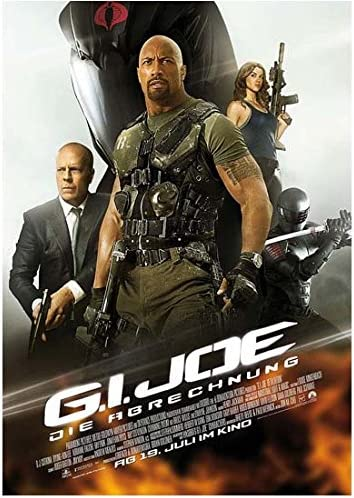 G I Joe Retaliation 2013 8 Inch X10 Inch Photo Movie Poster 3 Kn At Amazon S Entertainment Collectibles Store