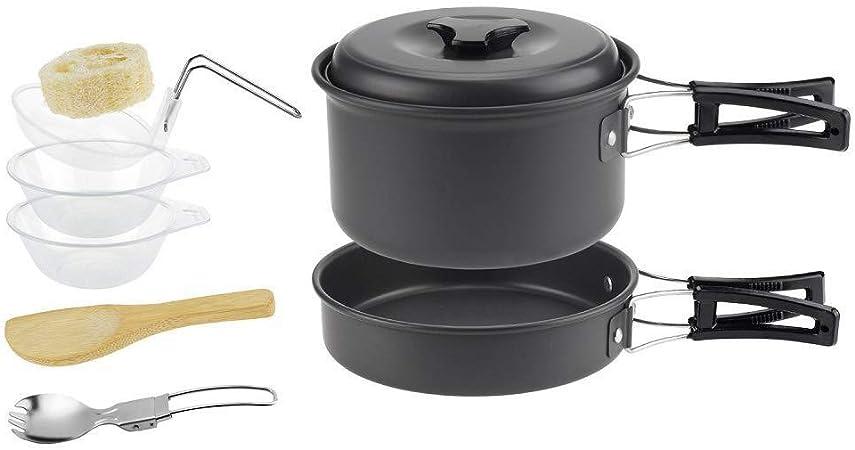 Combinación Tenedor Y Cuchara Olla Cocina Camping 8 ...