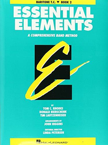 Essential Elements Book 2 - Original Series (Aqua) Baritone Treble Clef Book Tc