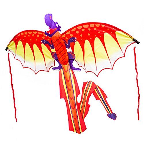 Kites & Accessories 35 Inch Butterfly Kite Outdoor Toy Sport Gift For Kids Children With String Tail High Resilience
