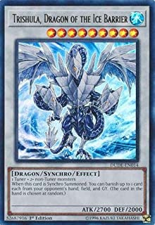 1st Edition DUDE-EN008 - Ultra Rare Dragon of the Ice Barrier Brionac