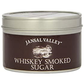 Jansal Valley Whiskey Smoked Sugar, 10 Ounce