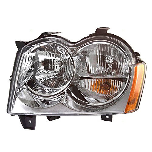 Drivers Headlight Headlamp Replacement for Jeep SUV 55156351AK
