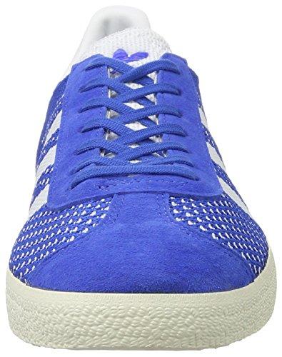 Primeknit Basses blue White Adidas Homme Gazelle footwear chalk Taille Bleu Sneakers Rot White Unique TtHH5cwq