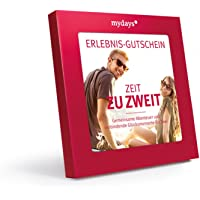 mydays Erlebnis-Gutschein 'Zeit zu Zweit' | 2 Personen, 80 Erlebnisse, 420 Orte