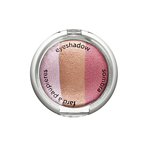 - Palladio Cosmetic Baked Eyeshadow Trio, Pink Bliss, 0.09 Ounce