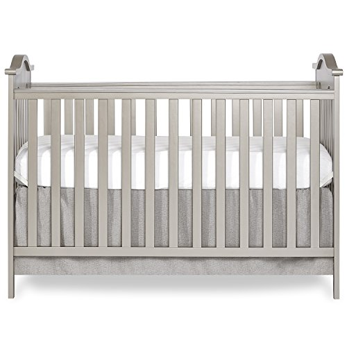 Dream On Me Bella Rose Classic Convertible Crib, Gold Dust