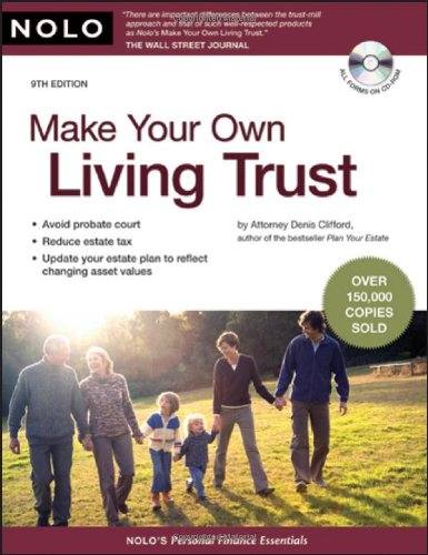 Read Online Make Your Own Living Trust PDF