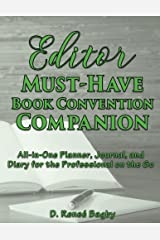 Editor Must-Have Book Convention Companion: All-in-One Planner, Journal, and Diary for the Professional on the Go Paperback