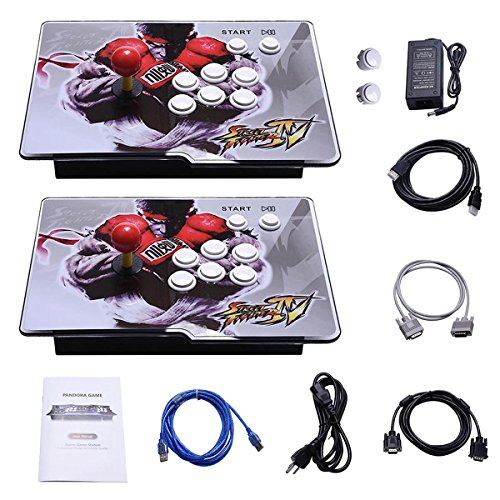 Yang HD Arcade Video Game Console Machine, 1299 Games, 2 Players 2 Single Consoles Pandora's Box 5S Multi Player Home Arcade, 1299 Games All in 1, Non-Jamma HDMI VGA by Yang (Image #9)