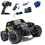 Traxxas LaTrax Teton 1/18 4WD Brushed RTR Truck w Radio Battery / Charger Green