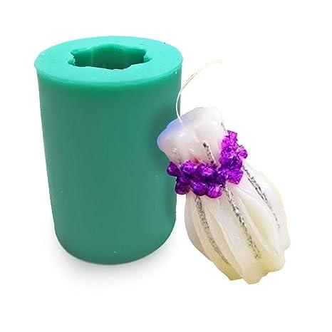 diyclan jarrón para hacer velas molde herramientas de decoración de pasteles