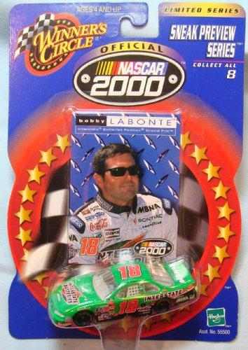Bobby Labonte #18 Winners Circle Sneak Preview Series NASCAR 2000 Die Cast Car