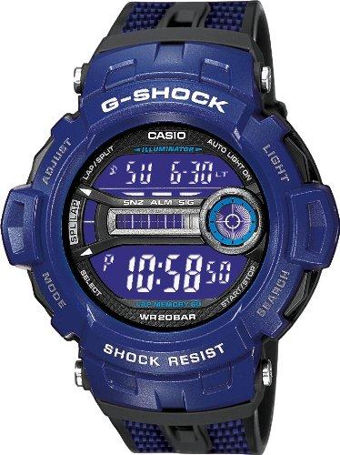 Casio G-Shock Lap Memory Reloj digital para hombres Resistente a golpes: Amazon.es: Relojes