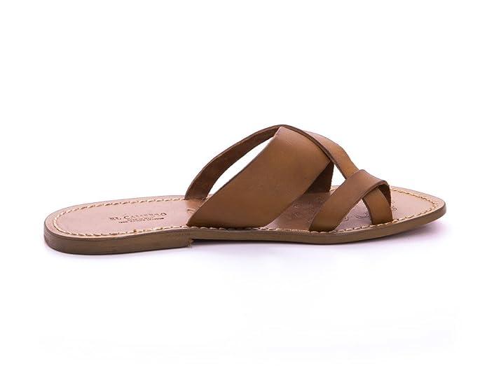 Sandalo Cuoio El Campero Uomo Tan46: Amazon.it: Scarpe e borse