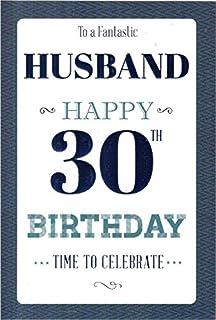 husband 30th birthday card amazon co uk electronics