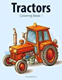 Tractors Coloring Book 1 (Volume 1)