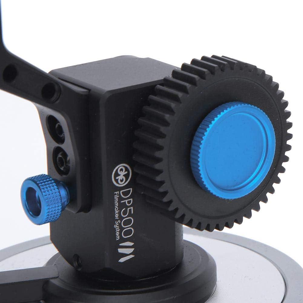 Mugast Camera Follow Focus DP500III Metal Video Camera Follow Focus Photography Accessory for SLR Video Camera Single Electric Camera Camera