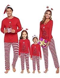 Matching Family Christmas Pajamas Set Holiday Pajamas Sleepwear Mom Dad PJs