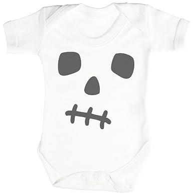 306edefcb308 SR - Skull Face Baby Bodysuit - Baby Body Suit - Baby Boy Bodysuit ...