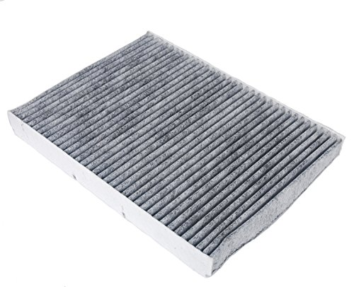 HIFROM Activated Carbon / Charcoal Air Cabin Filters Replacement Part# 1J0819644 (CUK 2862) for Audi TT, TT Quattro (2001-2006), Volkswagen VW Cabrio Golf Jetta Passat(1993-2006)