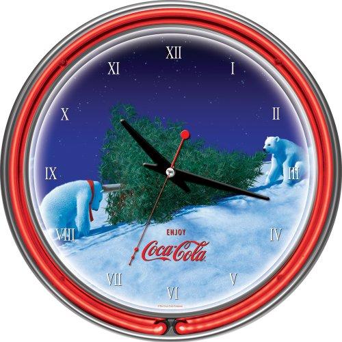 coca cola polar bear clock - 5