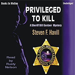 Privileged to Kill Audiobook
