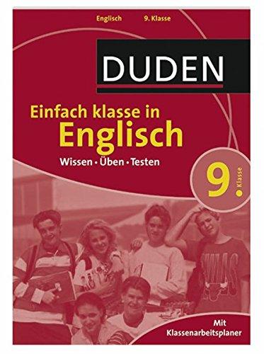 Einfach klasse in Englisch 9. Klasse: Wissen - Üben - Testen