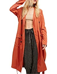 Amazon.com: Orange - Wool & Blends / Wool & Pea Coats: Clothing ...