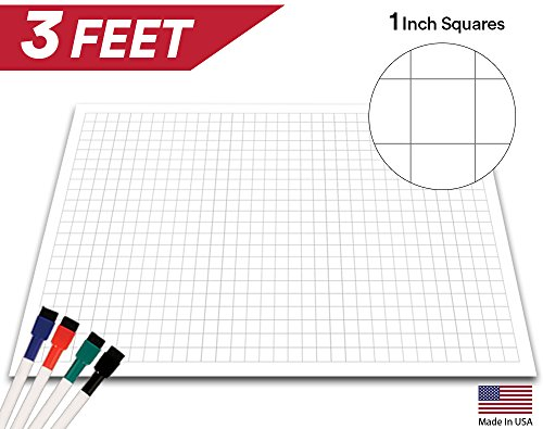 Compare Price Dry Erase Board Grid On Statementsltd Com