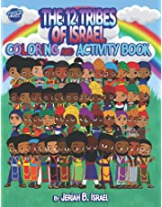 The 12 Tribes of Israel coloring and activity book