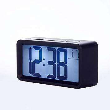 Yukun Despertador Reloj Despertador Digital Led Reloj De Cabecera De Reloj De Mesa Niños Despertador Despertador
