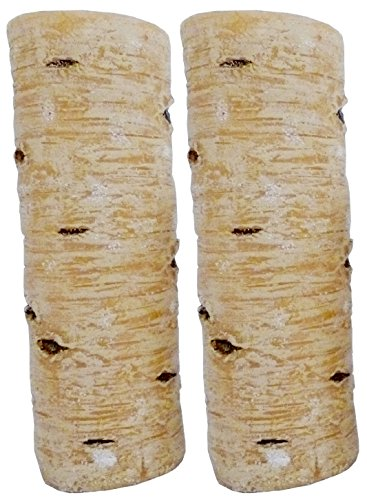 Biedermann & Sons All Wax Birch Style Candle, 3 by 9-Inch, Box of (Birch Wax Candle)