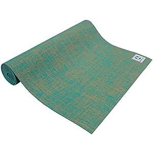 Jute-Yogamatte »Sampati Jute« / Matte aus hochwertigen Jutefasern und ECO-PVC...