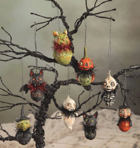 Bethany Lowe Little Ghoul Set of 8 Ornaments Debra Schoch Halloween New